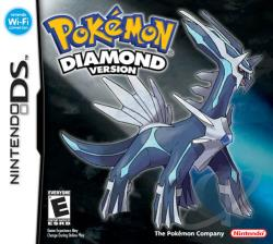 Pokemon: Diamond Version NDS Cover Art