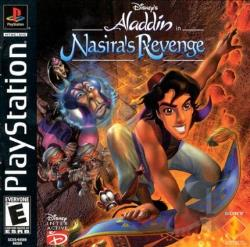 Disney's Aladdin In Nasira's Revenge PS Cover Art