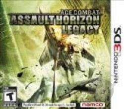 Ace Combat: Assault Horizon Legacy 3DS Cover Art