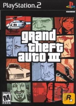 Grand Theft Auto III PS2 Cover Art