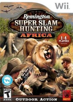 Remington Super Slam Hunting: Africa WII Cover Art
