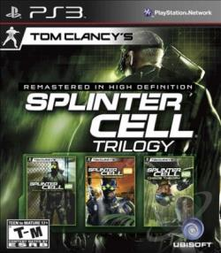 Tom Clancy's Splinter Cell Trilogy PS3 Cover Art