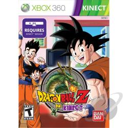 Dragon Ball Z for Kinect XB360 Cover Art