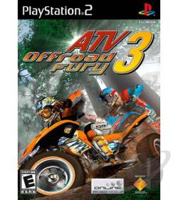 ATV Offroad Fury 3 PS2 Cover Art
