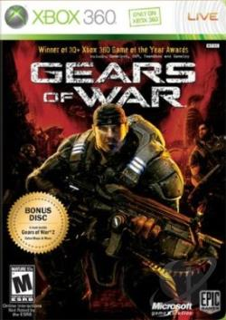 Gears of War XB360 Cover Art