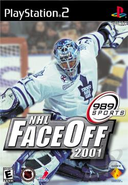 NHL FaceOff 2001 PS2 Cover Art