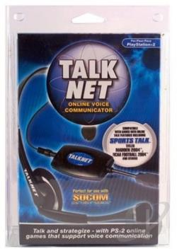 Talknet Headset (Intec) PS2 Cover Art
