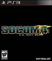 SOCOM 4: U.S. Navy SEALs PS3 Cover Art