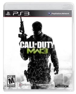 Call of Duty: Modern Warfare 3 PS3 Cover Art