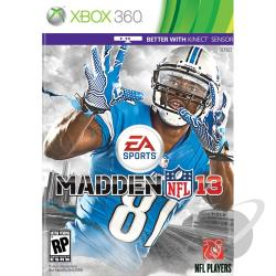 Madden NFL 13 XB360 Cover Art