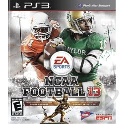 NCAA Football 13 PS3 Cover Art