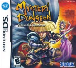 Mystery Dungeon: Shiren the Wanderer NDS Cover Art