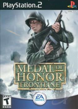 Medal Of Honor: Frontline PS2 Cover Art