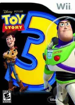 Toy Story 3: The Video Game WII Cover Art