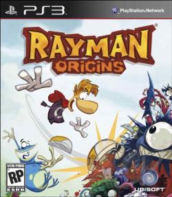 Rayman Origins PS3 Cover Art