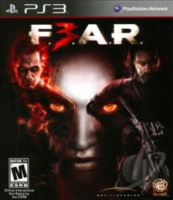 F.E.A.R. 3 PS3 Cover Art