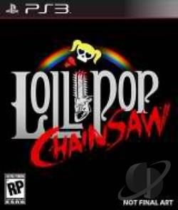 Lollipop Chainsaw PS3 Cover Art