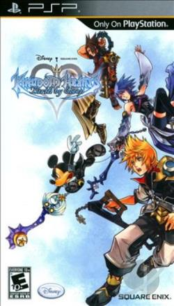 Kingdom Hearts: Birth by Sleep PSP Cover Art