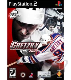 Gretzky NHL 2005 PS2 Cover Art