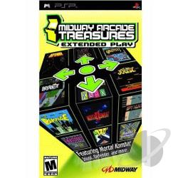 Midway Arcade Treasures: Extended Play PSP Cover Art