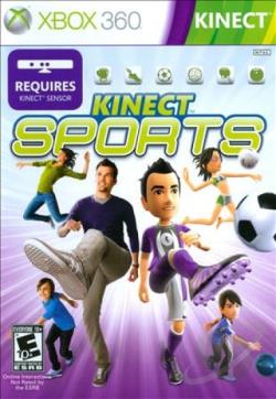Kinect Sports XB360 Cover Art