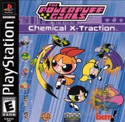 Powerpuff Girls: Chemical X-Traction PS2 Cover Art