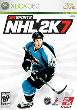 NHL 2K7 XB360 Cover Art