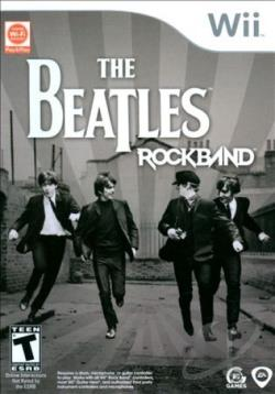 Rock Band: Beatles (Game Only) WII Cover Art