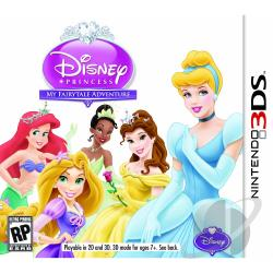 Disney Princess: My Fairytale Adventure 3DS Cover Art
