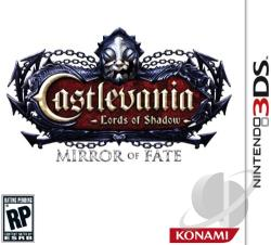 Castlevania: Lords of Shadow -- Mirror of Fate 3DS Cover Art