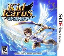 Kid Icarus: Uprising 3DS Cover Art