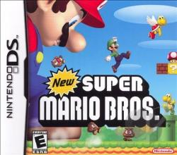 New Super Mario Bros. NDS Cover Art