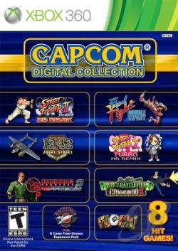 Capcom Digital Collection XB360 Cover Art