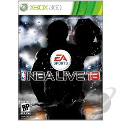 NBA Live 13 XB360 Cover Art