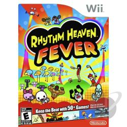 Rhythm Heaven Fever WII Cover Art