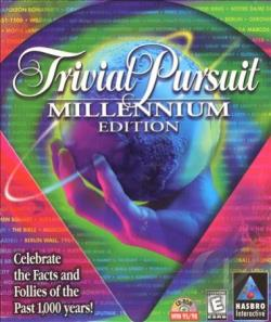 Trivial Pursuit Millennium Edition W98 Cover Art