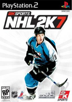 NHL 2K7 PS2 Cover Art
