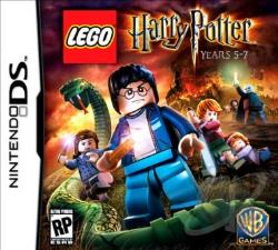 LEGO Harry Potter: Years 5-7 NDS Cover Art