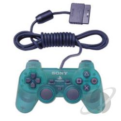 PS2 DualShock 2 Controller (Emerald) PS2 Cover Art