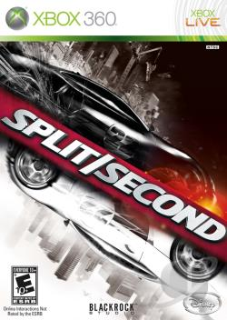 Split/Second XB360 Cover Art