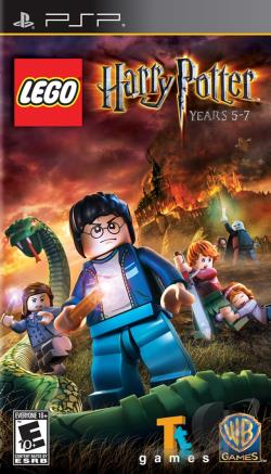 LEGO Harry Potter: Years 5-7 PSP Cover Art