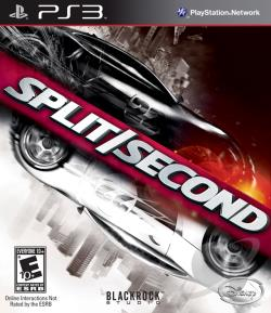 Split/Second PS3 Cover Art