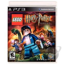 LEGO Harry Potter: Years 5-7 PS3 Cover Art