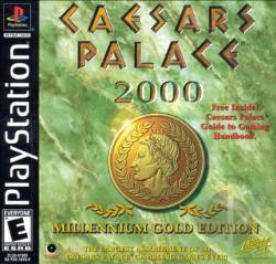 Caesars Palace 2000: Millennium Gold Edition PS Cover Art
