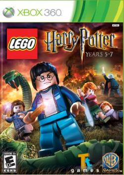 LEGO Harry Potter: Years 5-7 XB360 Cover Art