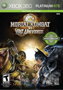 Mortal Kombat vs. DC Universe PS3 Cover Art