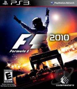 F1 2010 PS3 Cover Art