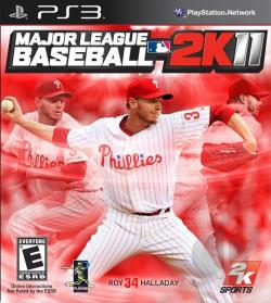 Major League Baseball 2K11 PS3 Cover Art