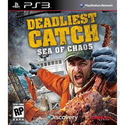 Deadliest Catch : Sea/Chaos-Move BL PS3 Cover Art