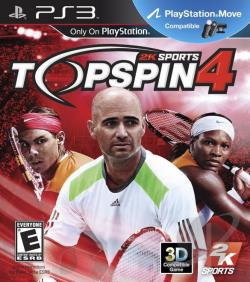 Top Spin 4 PS3 Cover Art